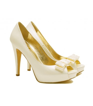 Lou bridal pumps Faidra