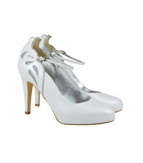 Lou bridal pumps Eugenie