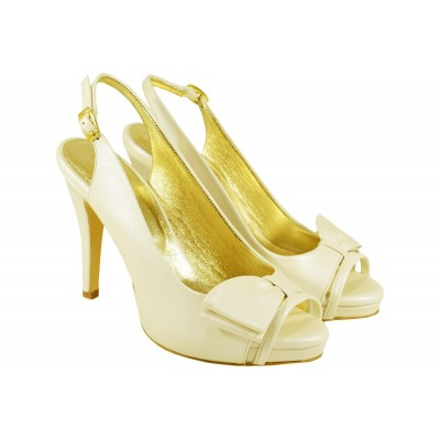 Lou bridal-evening sandals Emilia