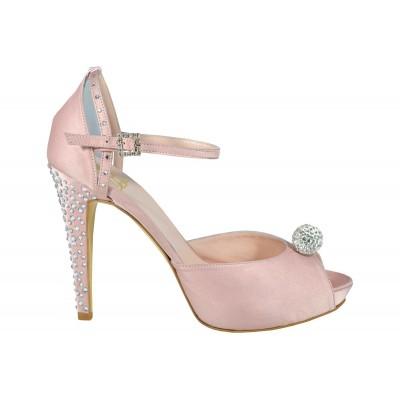 Lou bridal sandal Alessandra