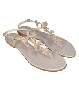 Lou bridal sandals Sunshine