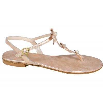 Lou bridal sandals Sunshine