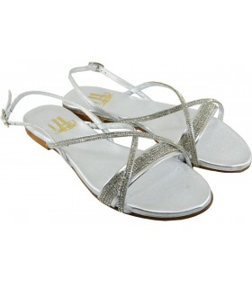 Lou bridal sandals Full moon