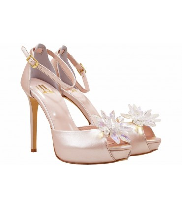Lou bridal-evening sandals Cinderella