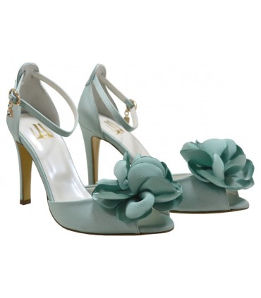 Lou bridal-evening sandals Peony