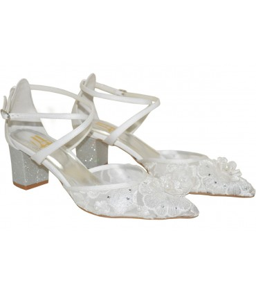 Lou bridal pumps Theodora