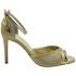 Custom Lou bridal evening sandals Stella ROSEGOLD
