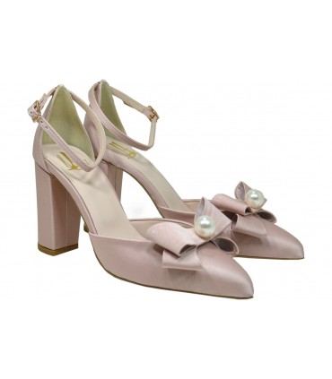 Lou bridal-evening pumps Amelie 80