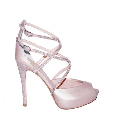 Custom Lou bridal sandals Daianna
