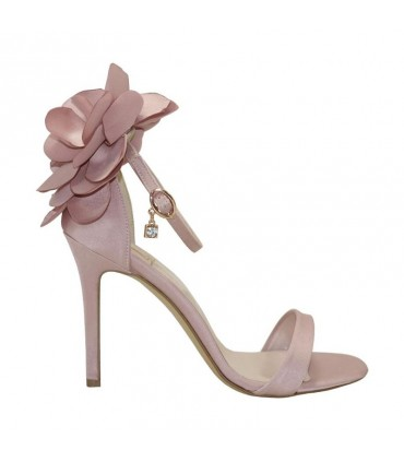 Custom Lou bridal-evening sandals Peony