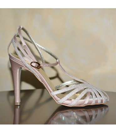 Evita Lou bridal evening sandals