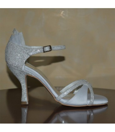 Aristea Lou bridal sandals