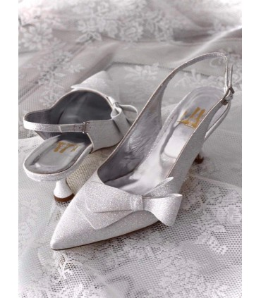 Carmen Lou bridal pumps