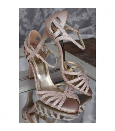 Chrysa Lou bridal evening sandals