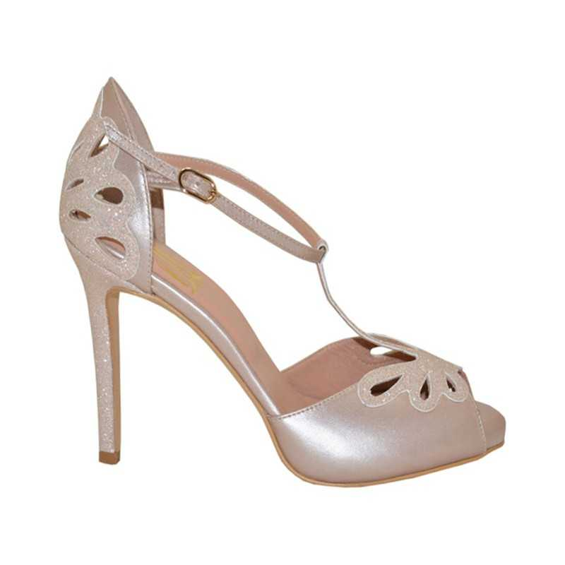 Lou bridal-evening sandals Marilia