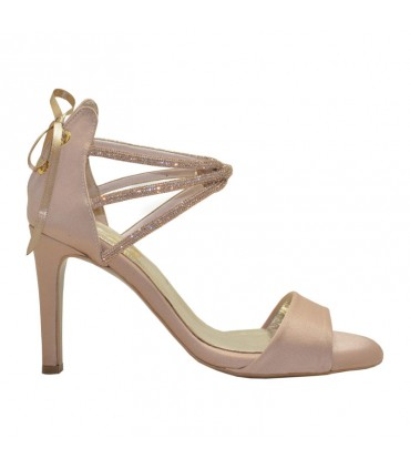 Marietta Lou bridal evening sandals