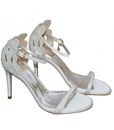 Linda Lou bridal sandals
