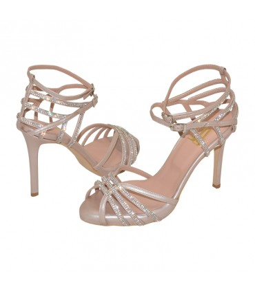 Celia Lou bridal evening sandals