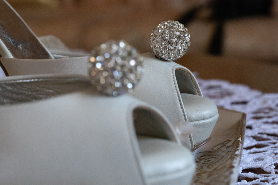 Alessandra Lou bridal shoes