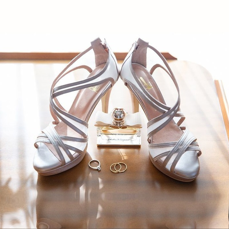 Lou bridal shoes Opaline
