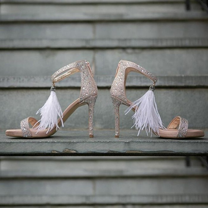 Lou bridal sandals Passion