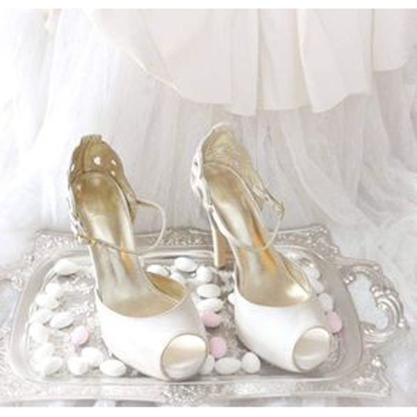 Artemis Lou bridal sandals