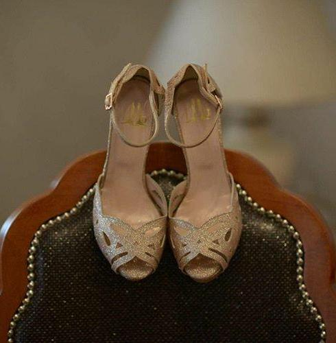 Lou bridal shoes Aphrodite