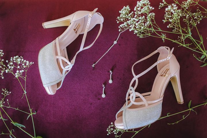Lou bridal sandals Rania