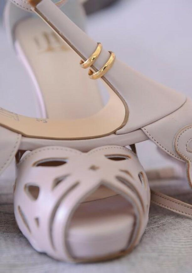 Lou bridal sandals Aphrodite
